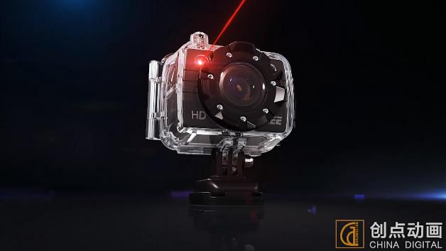 三维动画演绎摄像机